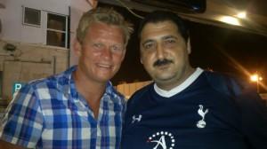 With Steffen Iverson